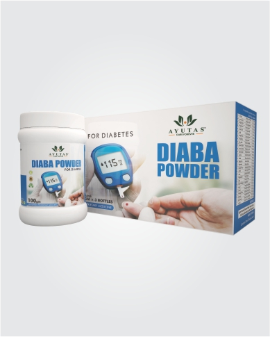 AMALTAS HERBAL DAIBA POWDER KIT