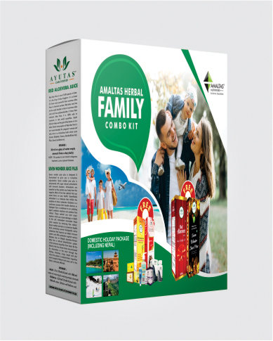AMALTAS HERBAL FAMILY COMBO KIT(NEW)
