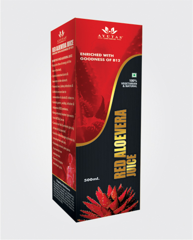 RED ALOEVERA 500 ML